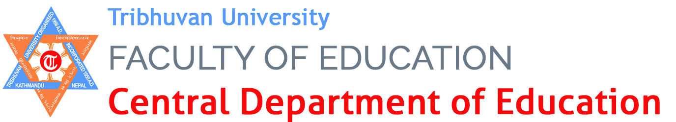 Department of Curriculum and Evaluation | Tribhuvan University, Faculty of Education, Central Department of Education